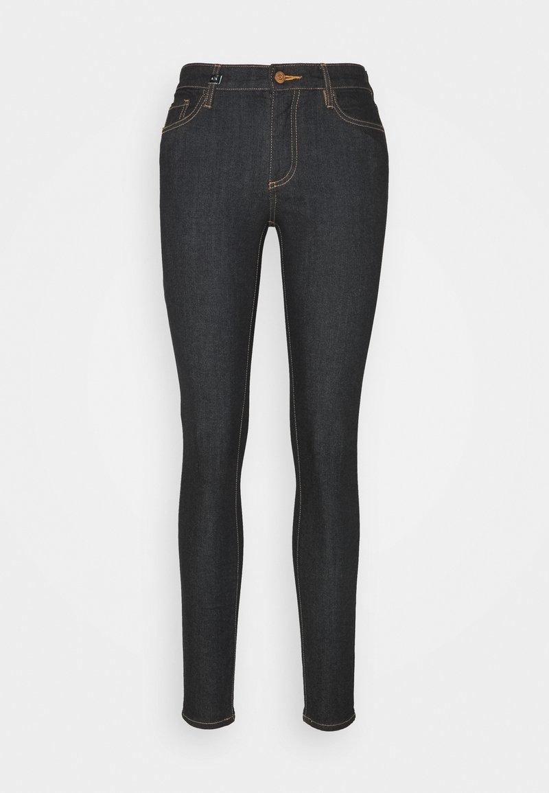 Armani Exchange - 5 POCKETS PANT - Jeans Skinny Fit - indigo denim