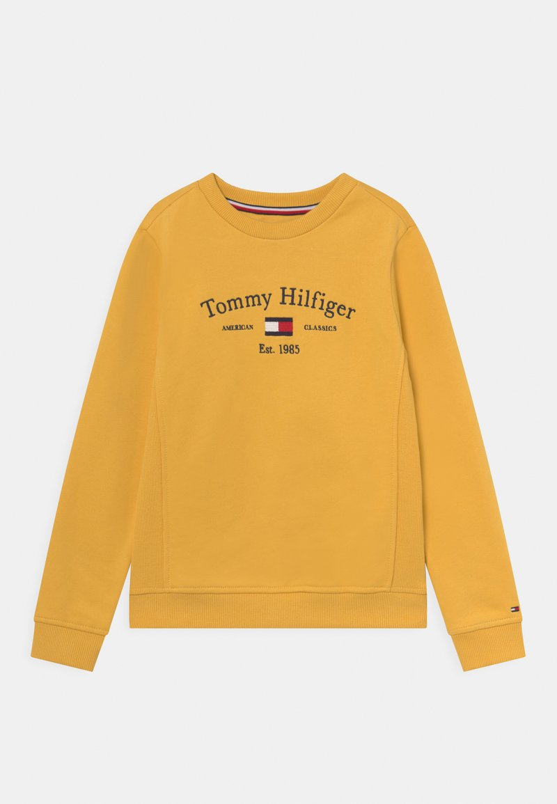 Tommy Hilfiger - ARTWORK - Felpa - midway yellow