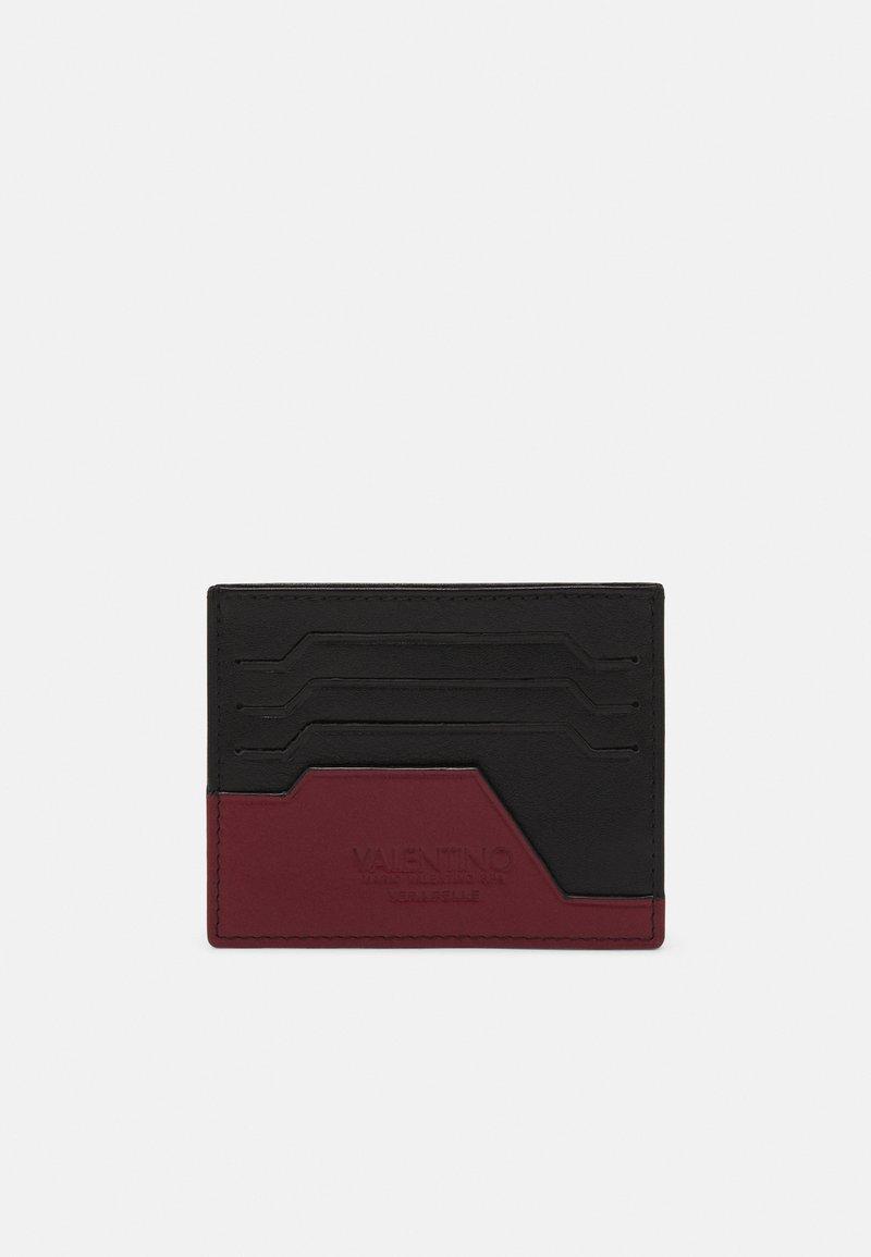 Valentino Bags - RHYS CARDHOLDER - Peněženka - nero