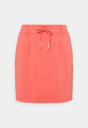 ONLPOPTRASH EASY SKIRT  - Mini skirt - cayenne