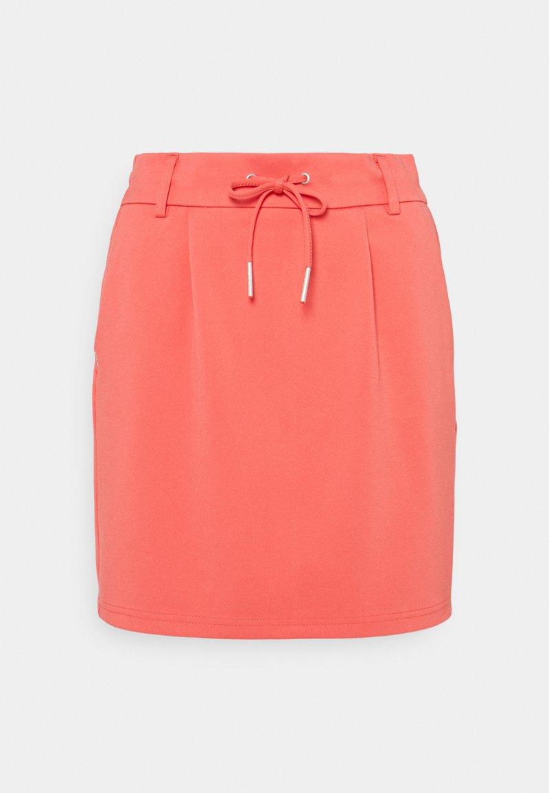 ONLY Petite - ONLPOPTRASH EASY SKIRT  - Mini skirt - cayenne