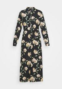 PIECES Tall - PCGYLLIAN MIDI DRESS TALL - Day dress - black/big flower - 4