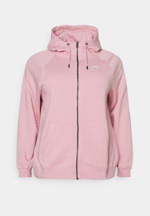 HOODY PLUS - Zip-up hoodie - pink glaze/white
