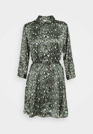 JDYPHILIPPA 3/4 DRESS  - Blusenkleid - black/green