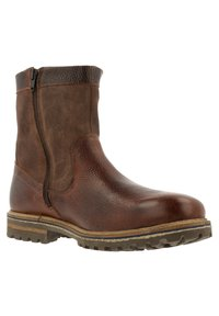 Gaastra - ANKLE BOOT/BOOTIE CASTOR HGH TMB - Cowboy/biker ankle boot - brown - 2