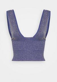 BDG Urban Outfitters - BURN BRIGHTER - Top - dark blue - 3