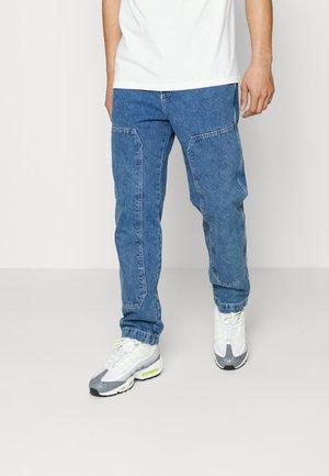 CARPENTER PANTS - Jeans straight leg - mid wash