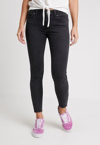 Lee - SCARLETT CROPPED ZIP - Jeansy Skinny Fit - body optix - 0