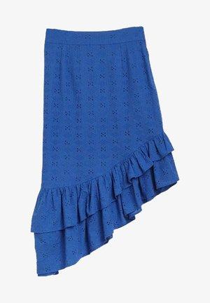 A-line skirt - bleu ceramique