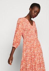 YAS Tall - YASDAMASK LONG DRESS - Robe longue - whisper pink - 3