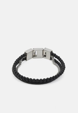 VINTAGE CASUAL - Armbånd - black/silver-coloured