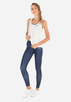 Leggings - rich blue