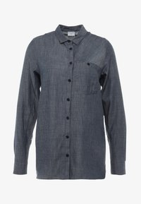 Houdini - OUT AND ABOUT SHIRT - Button-down blouse - blue illusion - 4