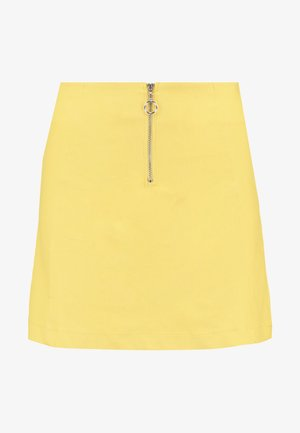 RING PULLER SKIRT - A-snit nederdel/ A-formede nederdele - yellow