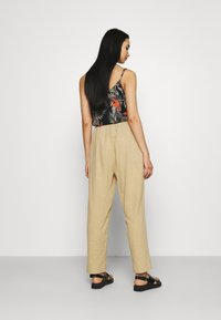 Cotton On - CALI PULL ON PANT - Trousers - brown taupe - 2