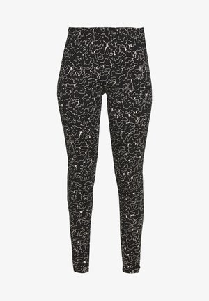 NMANILLA - Leggings - Hosen - black/white