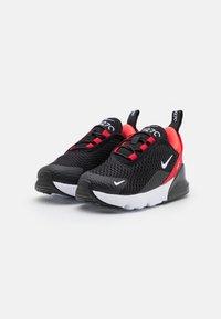 Nike Sportswear - AIR MAX 270 UNISEX - Trainers - black/white/university red/bright crimson - 1