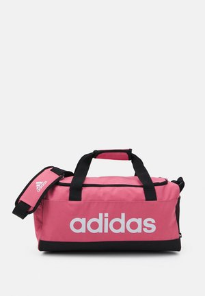 LINEAR DUFFEL S - Sportväska - hazy rose/black/white