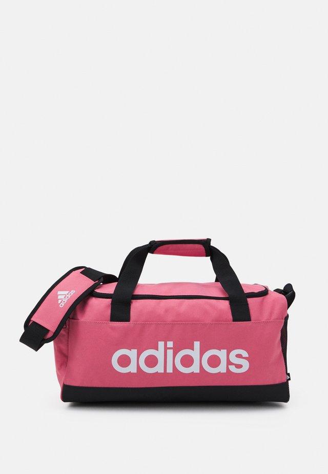 LINEAR DUFFEL S UNISEX - Sportovní taška - hazy rose/black/white