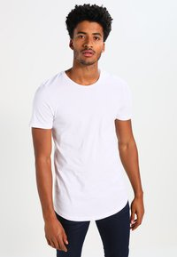 Jack & Jones - JJPRHUGO TEE CREW NECK  - Basic T-shirt - white - 0