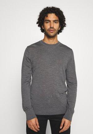 FLEMMING CREW NECK - Jumper - dark grey melange