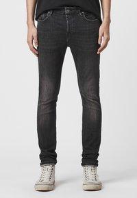 AllSaints - CIGARETTE - Slim fit jeans - black - 0