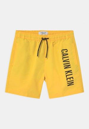 MEDIUM DRAWSTRING - Swimming shorts - yellow arch