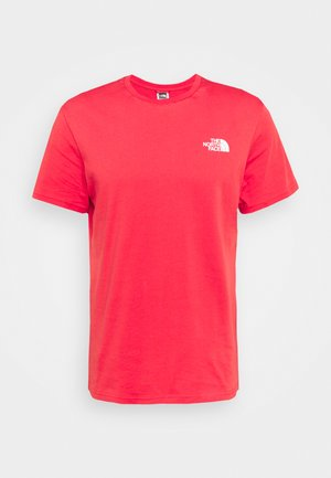 MENS SIMPLE DOME TEE - T-shirt con stampa - rococco red
