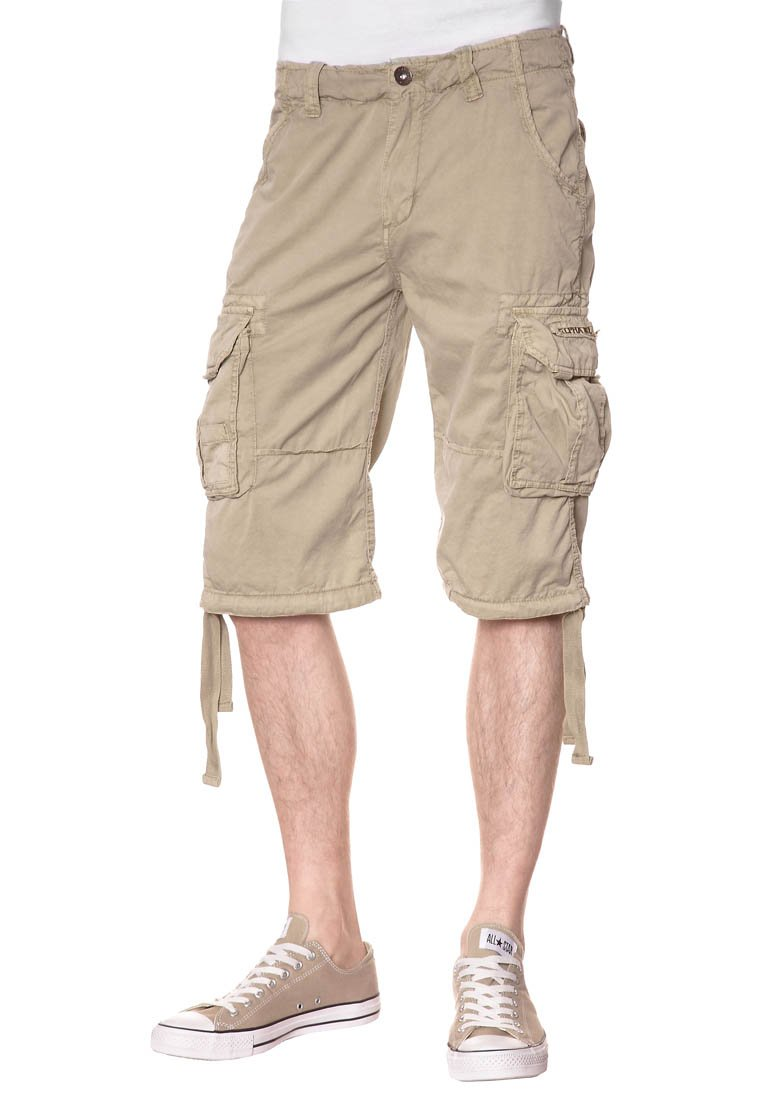 Alpha Industries - JET - Shorts - beige