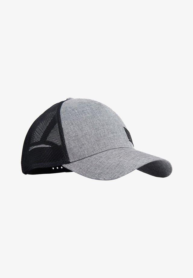 SUPERDRY SPORTS CAP - Pet - grey marl