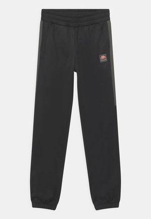 TEMI TRACK UNISEX - Spodnie treningowe - black/dark green