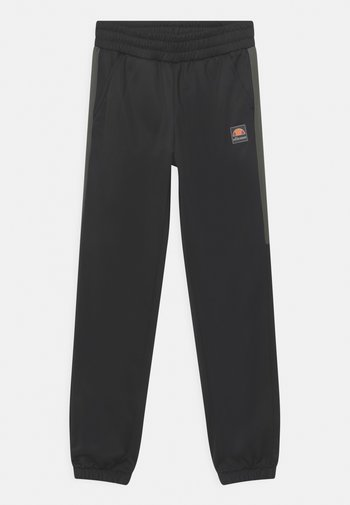 TEMI TRACK UNISEX - Pantaloni sportivi - black/dark green