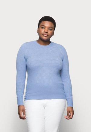 BRICK CREW - Stickad tröja - blue