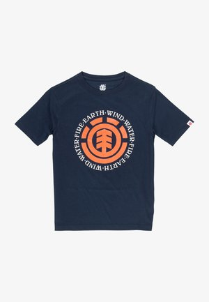 Seal  - Print T-shirt - eclipse navy