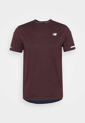 ICE 2.0 HERREN - T-shirt con stampa - dark purple