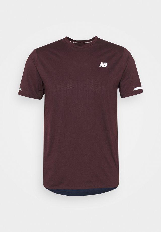 ICE 2.0 HERREN - T-shirt med print - dark purple