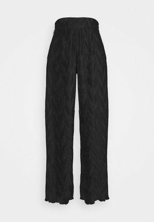 VIVIAN TROUSERS - Trousers - black