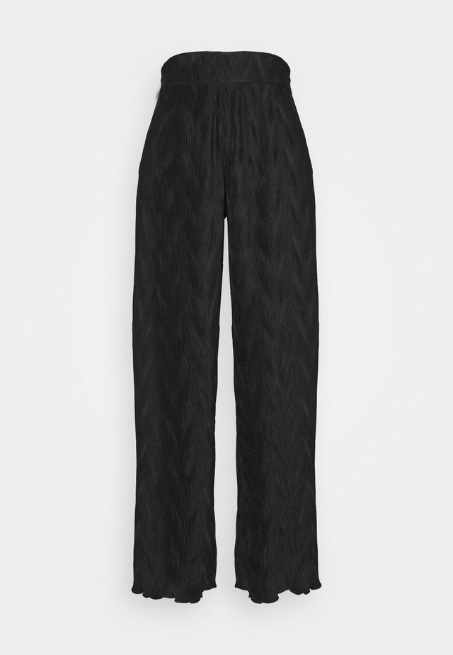 VIVIAN TROUSERS - Broek - black