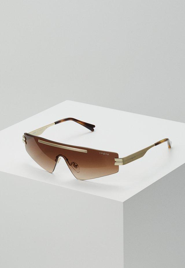 SIZE 29 - Solbriller - gold-coloured/brown