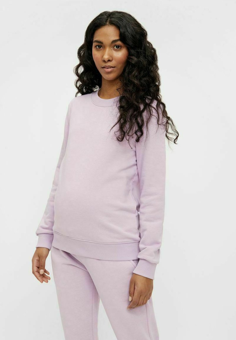 Pieces Maternity - PCMPIP - Sweatshirt - orchid bloom