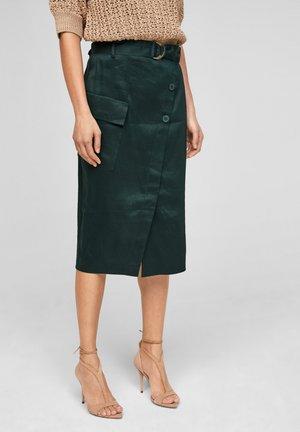 Wrap skirt - leaf green