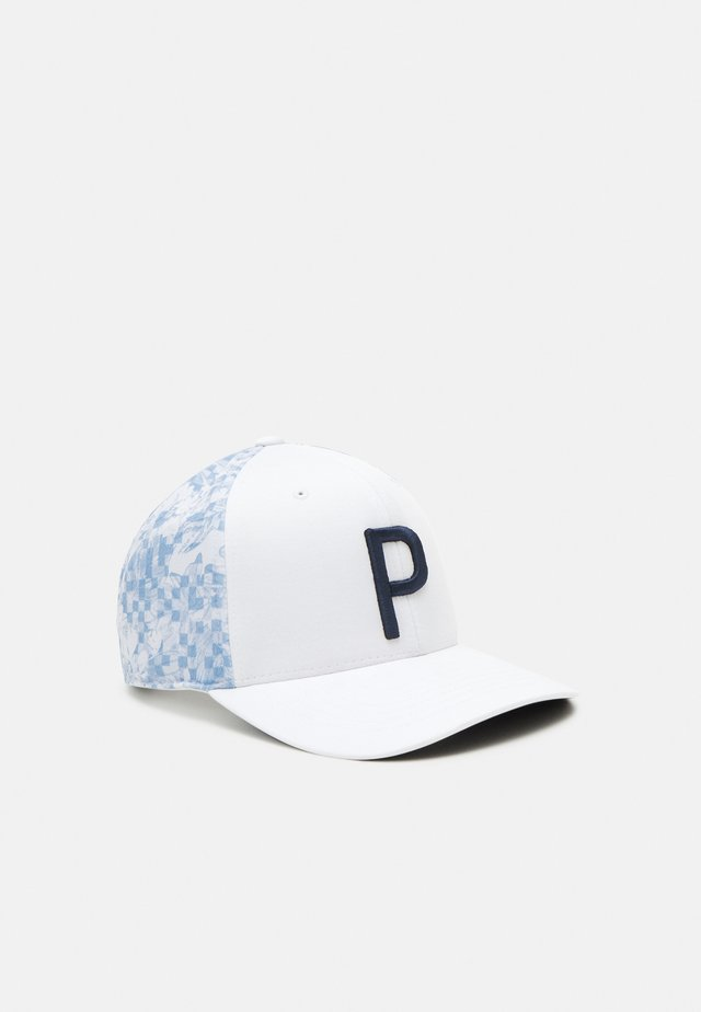 BIT FLORAL SNAPBACK - Pet - bright white
