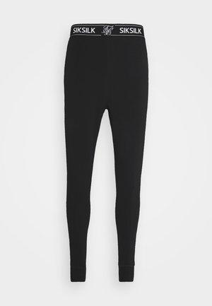 LOUNGE PANTS - Pyjama bottoms - black
