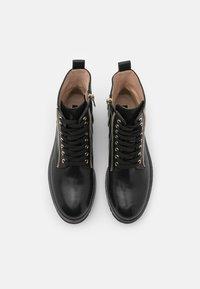 Steffen Schraut - 17 ZIP STREET - Lace-up ankle boots - black - 4