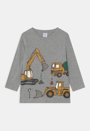 MINI VEHICLES PLACED PRINT - Long sleeved top - grey melange