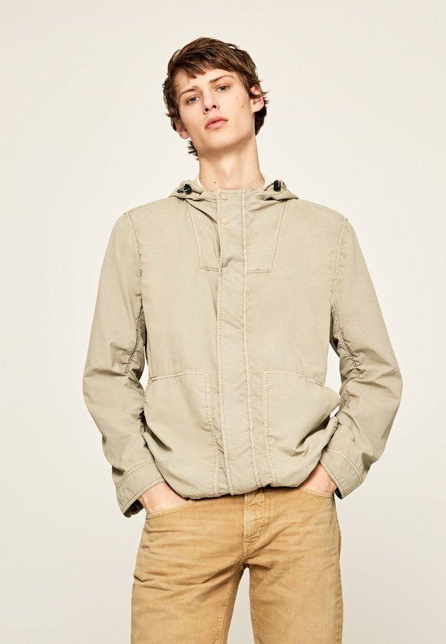 NAKURU - Summer jacket - grain beige