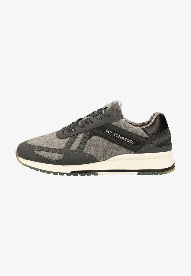 Sneakers laag - mid grey s84