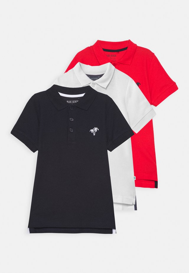 SMALL BOYS BASIC 3 PACK - Poloshirt - weiß