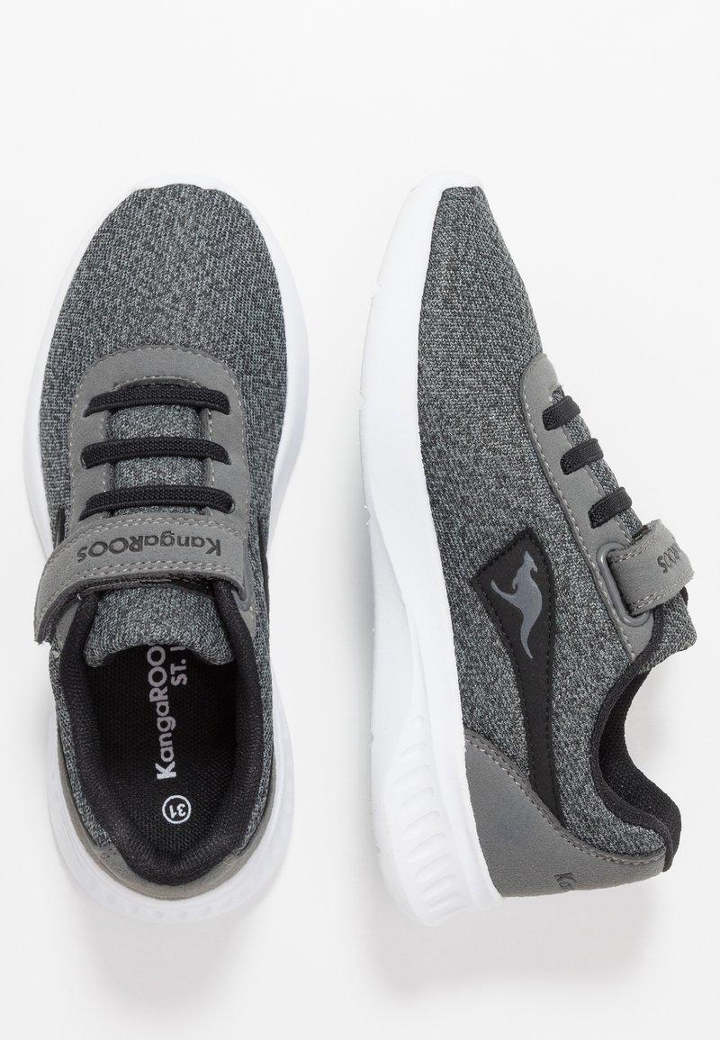 KangaROOS - CURVE - Sneakers - steel grey/jet black
