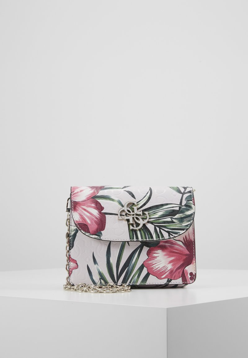 Guess - CHIC SHINE MINI CROSSBODY FLAP - Bandolera - floral